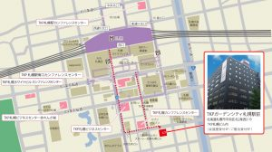 TKPガーデンシティ札幌駅前-MAP